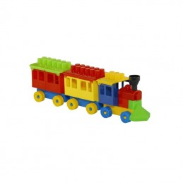 Trenulet cu cuburi,...