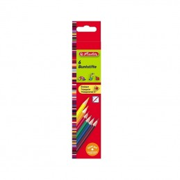 Creioane color triunghiular...